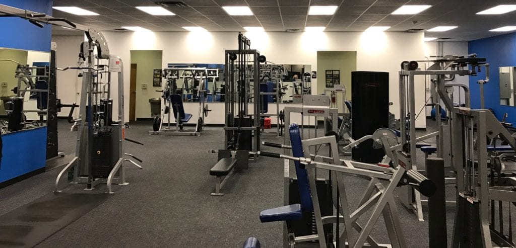 variety of fitness equipment for total body workout at albuquerque gym