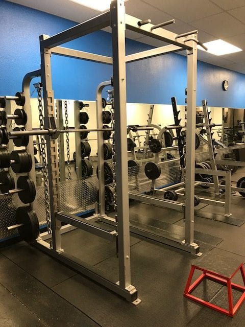 power rack fitness equipment in albuquerque gym